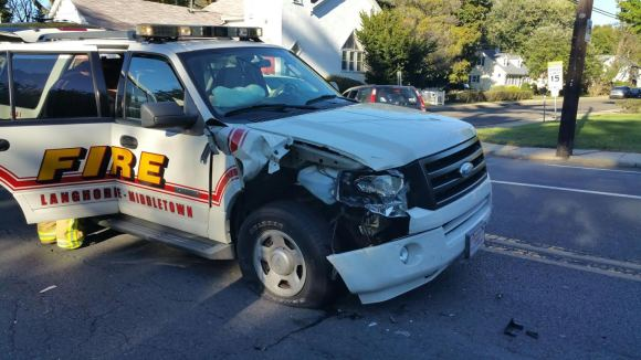 State Police Plan To Ticket Driver Who Caused Fire Chief To Crash