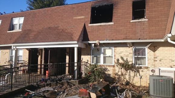 16 Apartments Damaged In Saturday Morning Blaze