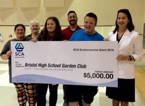 Grant Will Help Students Expand Garden In Their High School Courtyard