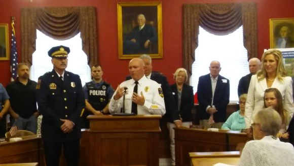 Bristol's New Police Chief Reports For Duty