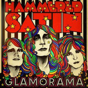 HAMMERED SATIN GLAMORAMA