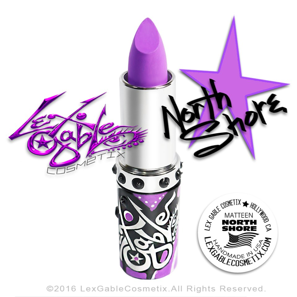 NORTH SHORE :: Orchid Lipstick :: Lex Gable Cosmetix