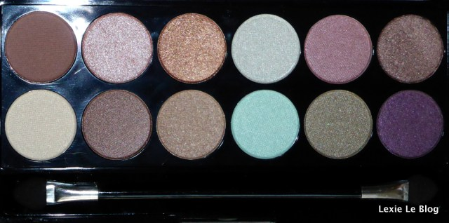MUA spring break palette savec flash