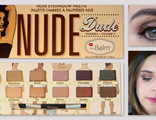 Swatch et tuto Nude Dude Palette The Balm