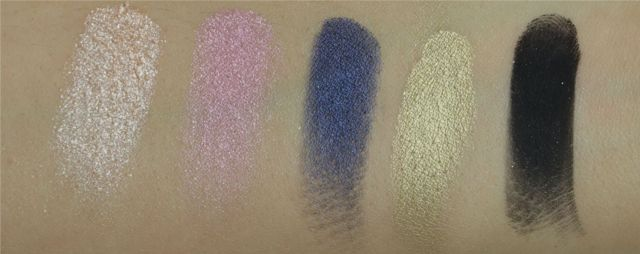 Palette Gwen Stefani Urban Decay swatch 3rd raw