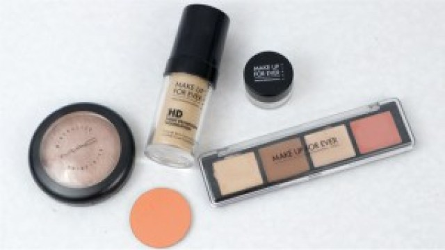 Monday Shadow Challenge orange néon teint make up for ever hd pro sculpting palette summer fling soft and gentle