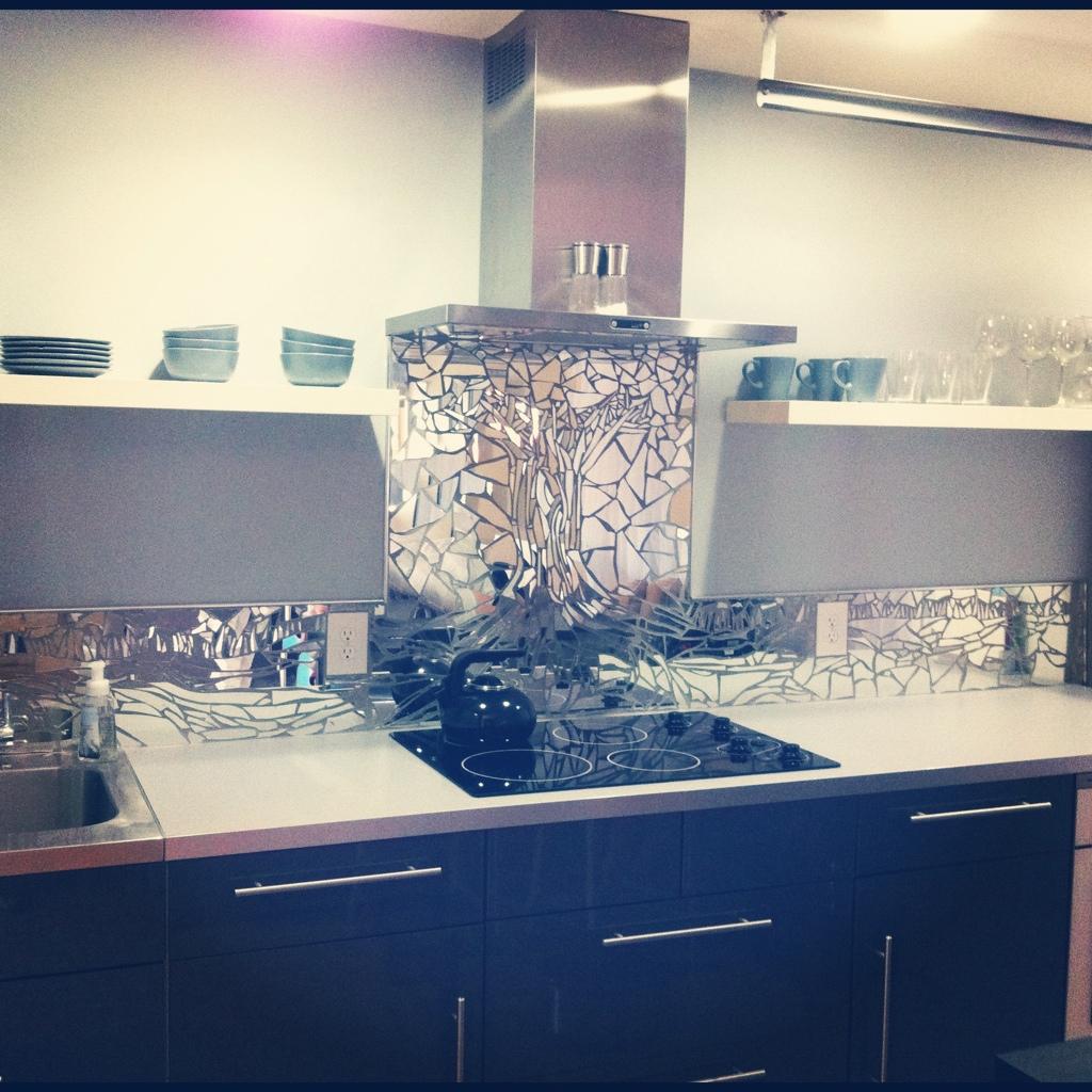 lexievanwinkle wordpress mosaic kitchen backsplash Mirror Mosaic Kitchen Backsplash