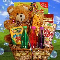 gift baskets for kids
