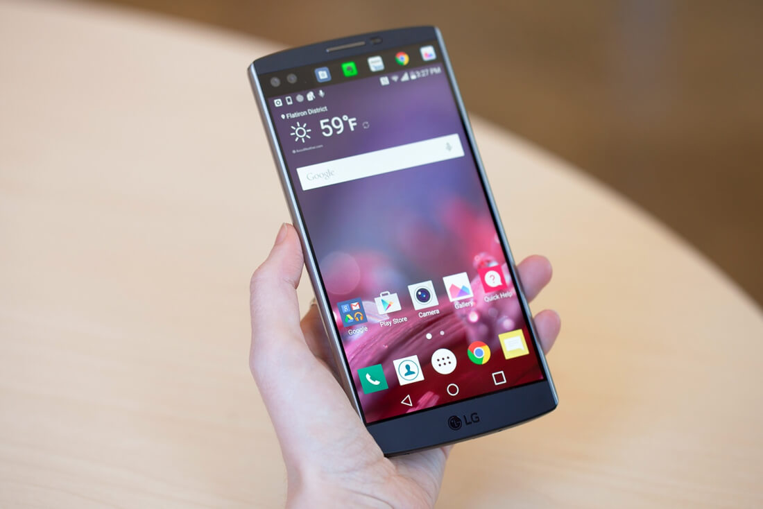 #1 in Our List of the Upcoming LG Smartphones - LG V20