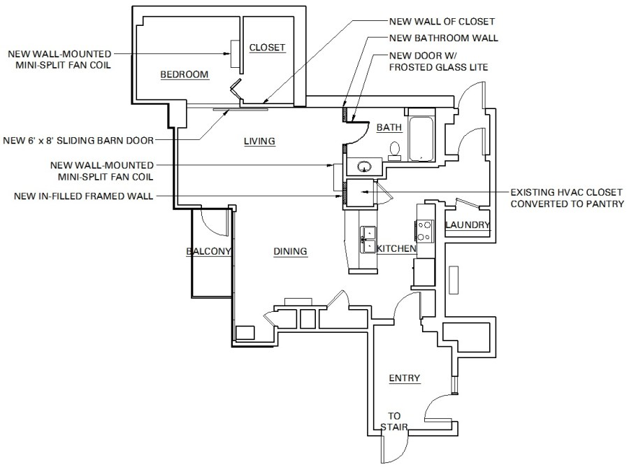 New floor plan diy remodel renovation lg squared inc for Diy floor plan online