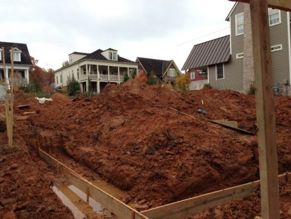 Proud Green Home Construction Update Foundation Footing