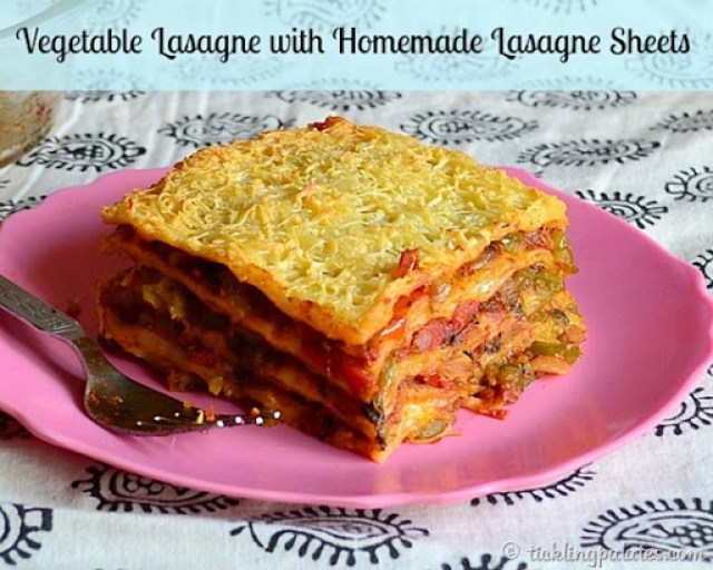 homemade lasagna sheets without a pasta maker