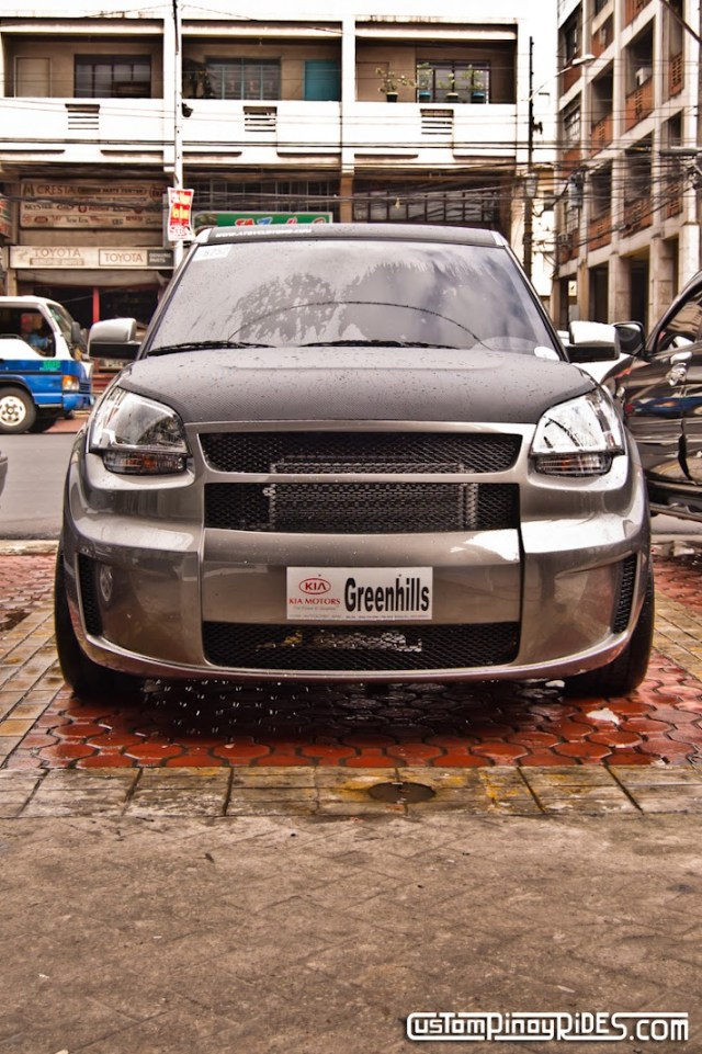 Atoy Customs Kia Soul Body Kit Front View Custom Pinoy Rides