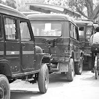 New Delhi traffic is pure madness