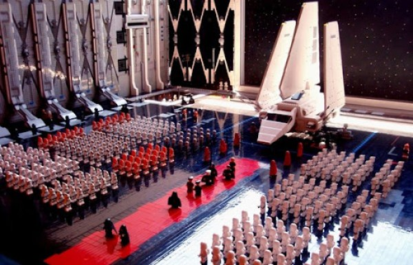LEGO Imperial Shuttle Arrival of the Emperor