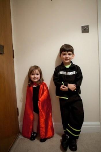 Halloween Fireman Superwoman 2