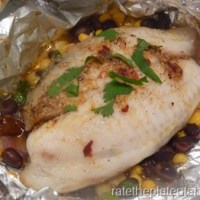 Eat In Recipe: Fish with Chipotle Compound Butter in Foil Packets