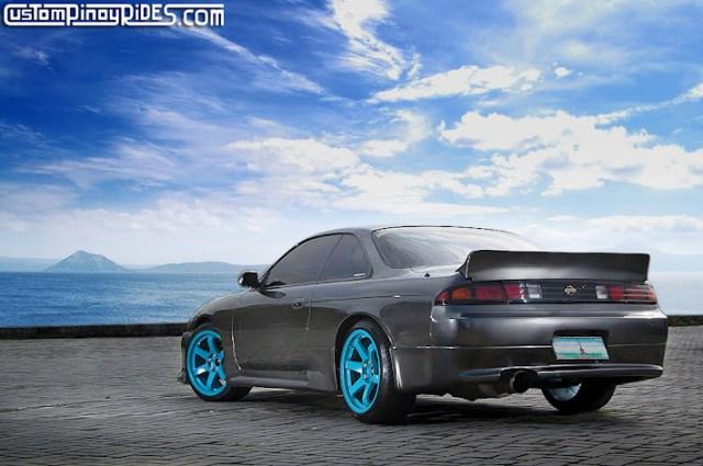 Rocketbunny Vertex Nissan S14 Silvia Rota Custom Pinoy Rides