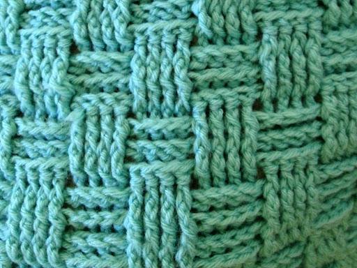 Crochet Basket Weave Afghan Baby Blanket Pattern And Tutorial : Pics Photos - Crochet Basket Weave Afghan Baby Blanket ...