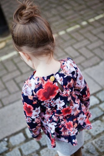 Pretty in Peplum Dress at Our Family Four 1