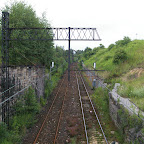 As activity alongside those rails reduces, nature is taking over again.