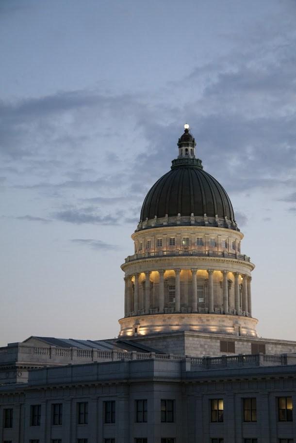 Utah State Capitol Building Dome
