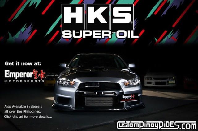 HKD Super Oil Evo X Custom Pinoy Rides