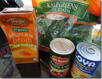 Using frozen kale