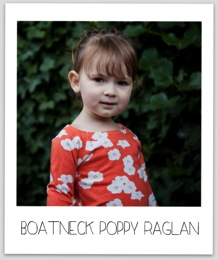 Red Poppy Raglan 5