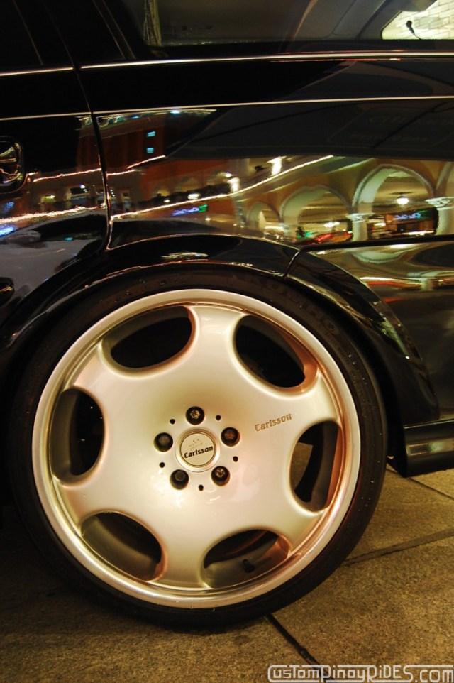 CustomPinoyRides - EuroFest 2010 Opel Vectra Wagon Carlsson Wheels pic4