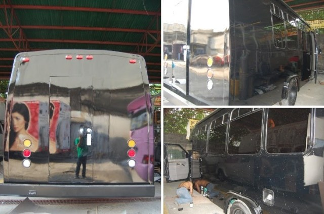 CustomPinoyRides Angel Locsin A-Toy Body Kits Ford E450 pic2