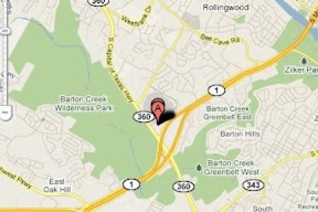 map of barton creek mall