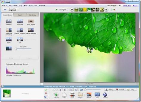 picasa-edit-web album integrate-vmancer