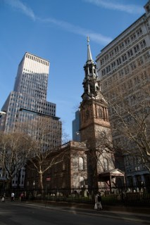 St. Paul's Chapel near ground zero