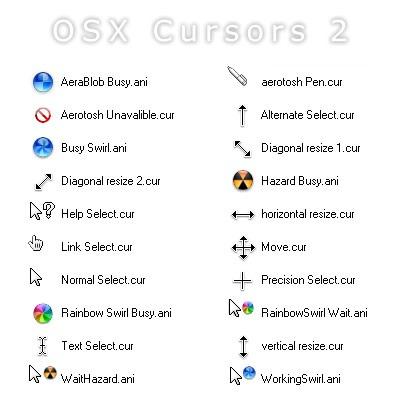 OS_X_White_Cursors