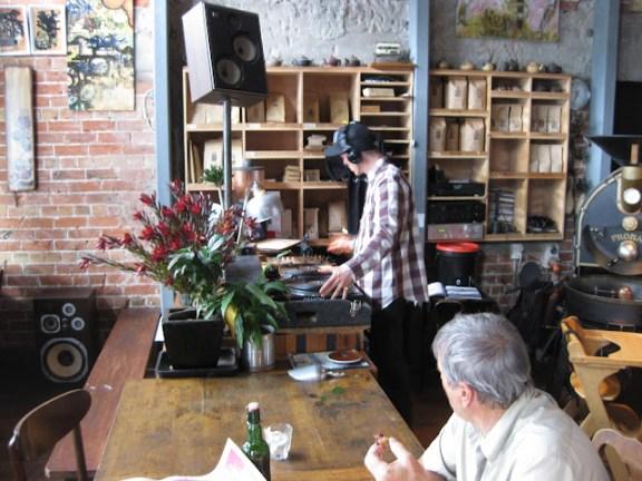 Funky little cafe in Lyttelton