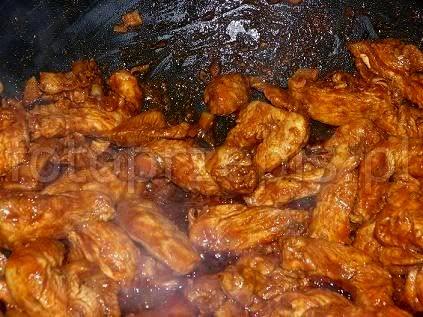 Kurczak 5 smaków wok srednie orientalna kurczak i drob danie glowne  przepis foto