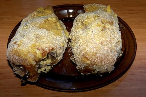 Drobiowe kieszonki nadziewane serem i pieczarkami polska obiad latwe kurczak i drob danie glowne codzienne  przepis foto
