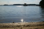 USA, Smith Mountain Lake, VA - Widok z parku na jezioro (Fot. Robert Bajan)