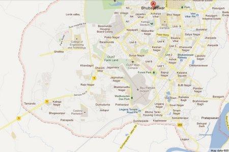 vani vihar ph lingaraj temple road ph area map