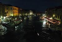 South view from Rialto Bridge, Venice.
