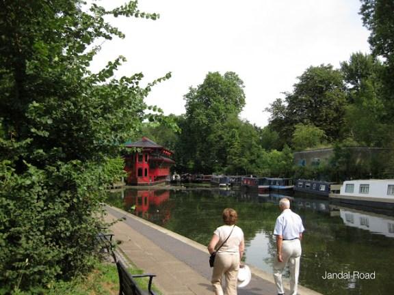 Cumberland Basin, Regent's Canal, near Regent's Park