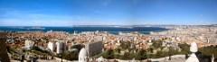 Marseille: view from Notre Dame de la Garde