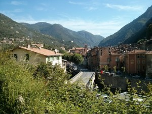 View of Breil sur Roya