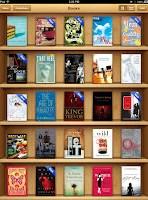 Screencap of my iBooks library