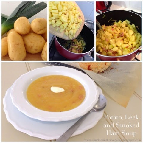 Potato, Leek and Smoked Ham Soup - A Family Favourite! - Sparkles in ...
