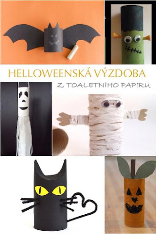Tvoření pro děti Halloween
