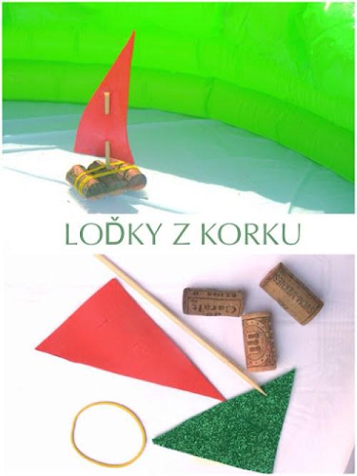 Tvoření pro děti lodičky