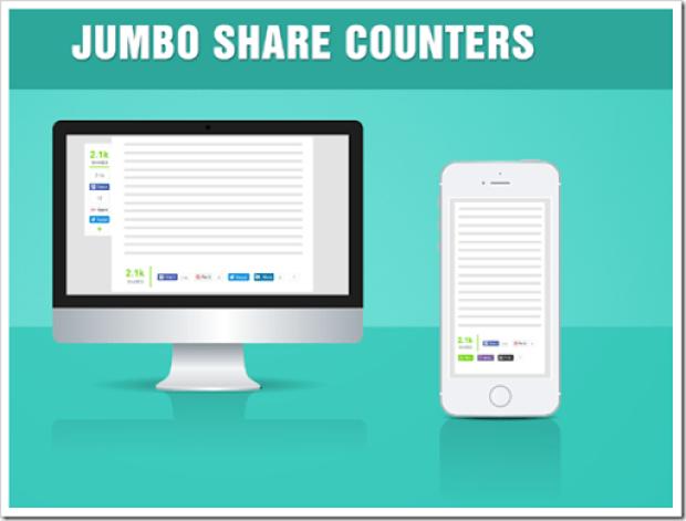 Jumbo Share Counters