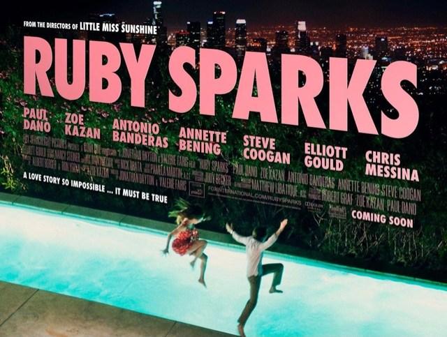 Ruby Sparks movie poster, Zoe Karzan, Paul Dano